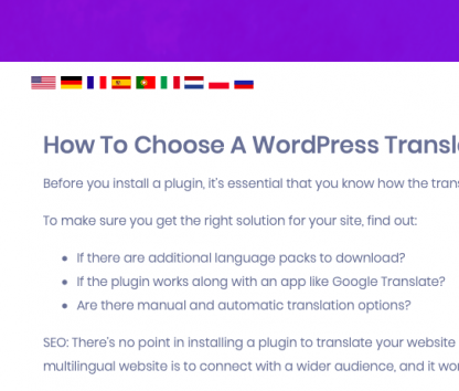 DeepL WordPress Plugin Switcher