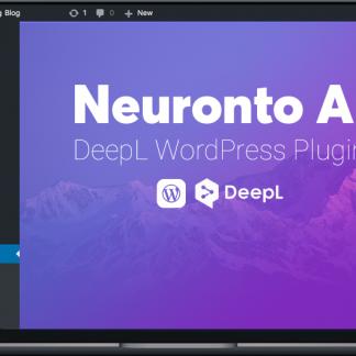 Neuronto DeepL WordPress Plugin